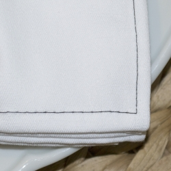 Pack 6x - Servilleta net gris