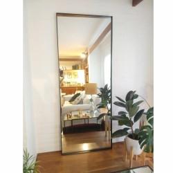 espejo rectangular 180x70 negro