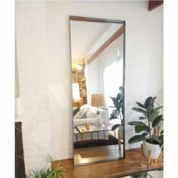 espejo rectangular 180x70 gris grafito